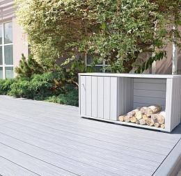 Záhradný odkladací box na drevo
