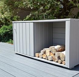Záhradná odkladací box na drevo