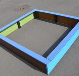 Detské pieskovisko - bez spodnej folie