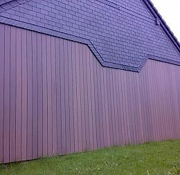Fasádne obloženie stodoly