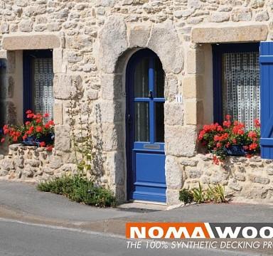 Okenice z profilových dosiek BL NOMAWOOD